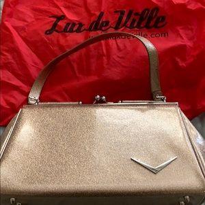 Lux de Ville Champagne Sparkle bag